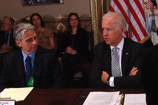 Biden and Ritticello
